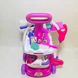 """Игровой набор для уборки с пылесосом """"Мамина помощница"""". Набор для девочек, фото 7"""