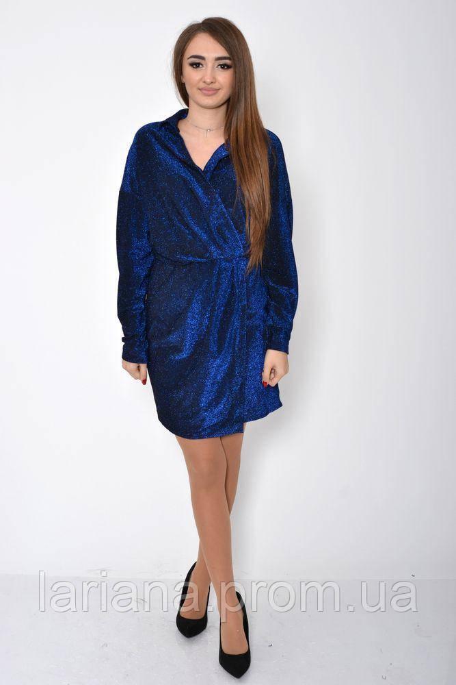 Платье женское 115R361 цвет Электрик