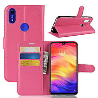 Чехол-книжка Litchie Wallet для Honor 8A / 8A Pro / Huawei Y6s Rose