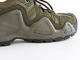Тактические кроссовки на мембране Alligator олива, фото 6