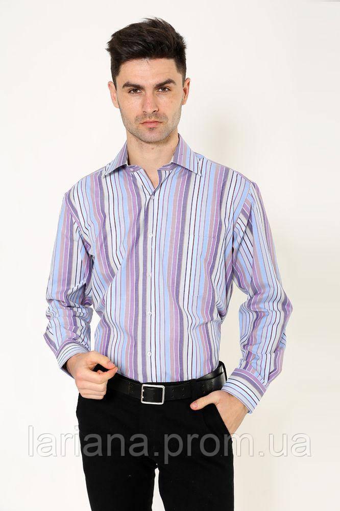 Рубашка 113RPia29 цвет Фиолетово-голубой
