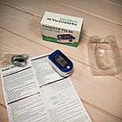 Пульсоксиметр медицинский на палец Fingertip Pulse Oximeter LK87 измерения кислорода крови пульсометр оксиметр, фото 8