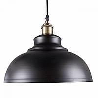 Потолочная Люстра светильник-подвес в стиле лофт E27 Черная