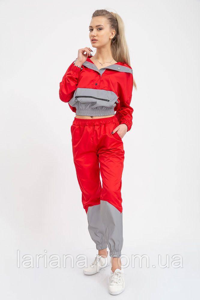 Спорт костюм женский 103R1605 цвет Красный