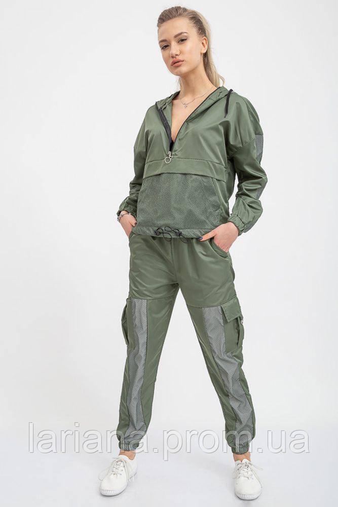 Спорт костюм женский 103R1586 цвет Хаки
