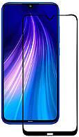Защитное стекло TOTO 5D Full Cover Tempered Glass Xiaomi Redmi Note 8T Black #I/S