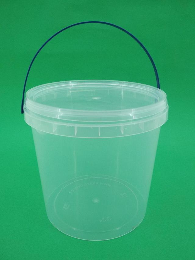Ведра пластиковые прозрачные пищевые