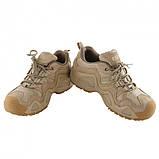 Тактические кроссовки на мембране Alligator песок, фото 3