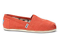 Женские TOMS Orange Earthwise Women's Vegan Classics, фото 1