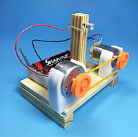 Перетворювач енергії - набір для складання, дерев'яний конструктор, саморобка