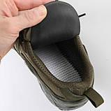 Тактические кроссовки на мембране Alligator песок, фото 4