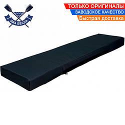 Мягкое лодочное сиденье для надувной лодки 80 см мягкая накладка сидушка на банку ткань Оксфорд ЧЕРНАЯ