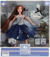 Лялька Emily QJ089B 30 см, фігурка котик, аксесуари