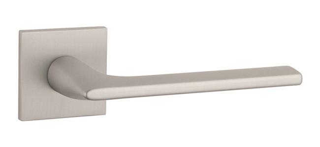 Ручка дверная на розетке Aprile Salvia Q 5S никель матовый (Португалия)