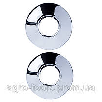 """Смеситель PM 1/2"""" для ванны гусак изогнутый дивертор встроенный шаровый AQUATICA (PM-5C457C), фото 3"""