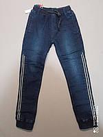 Теплые джинсы на флисе для мальчика 134,  164 рост, фото 1