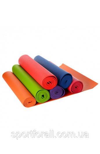 Килимки для йоги та фітнесу размер173х61х6 мм MS 1184