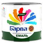 Эмаль Барва Зеленая 0.8 кг