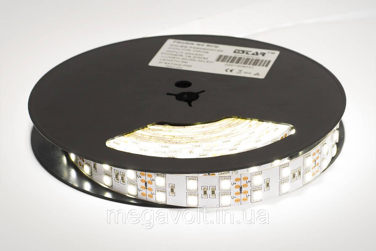 Светодиодная лента ESTAR SMD 5050/120 (IP20) premium 24V белая (6000-6500К)