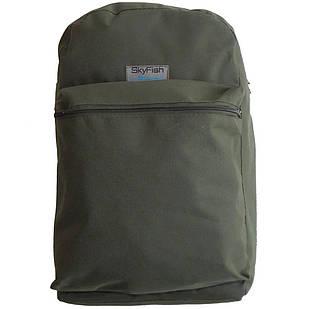 Рюкзак для рыбалки и охоты SkyFish 20 л малый водонепроницаемый Олива
