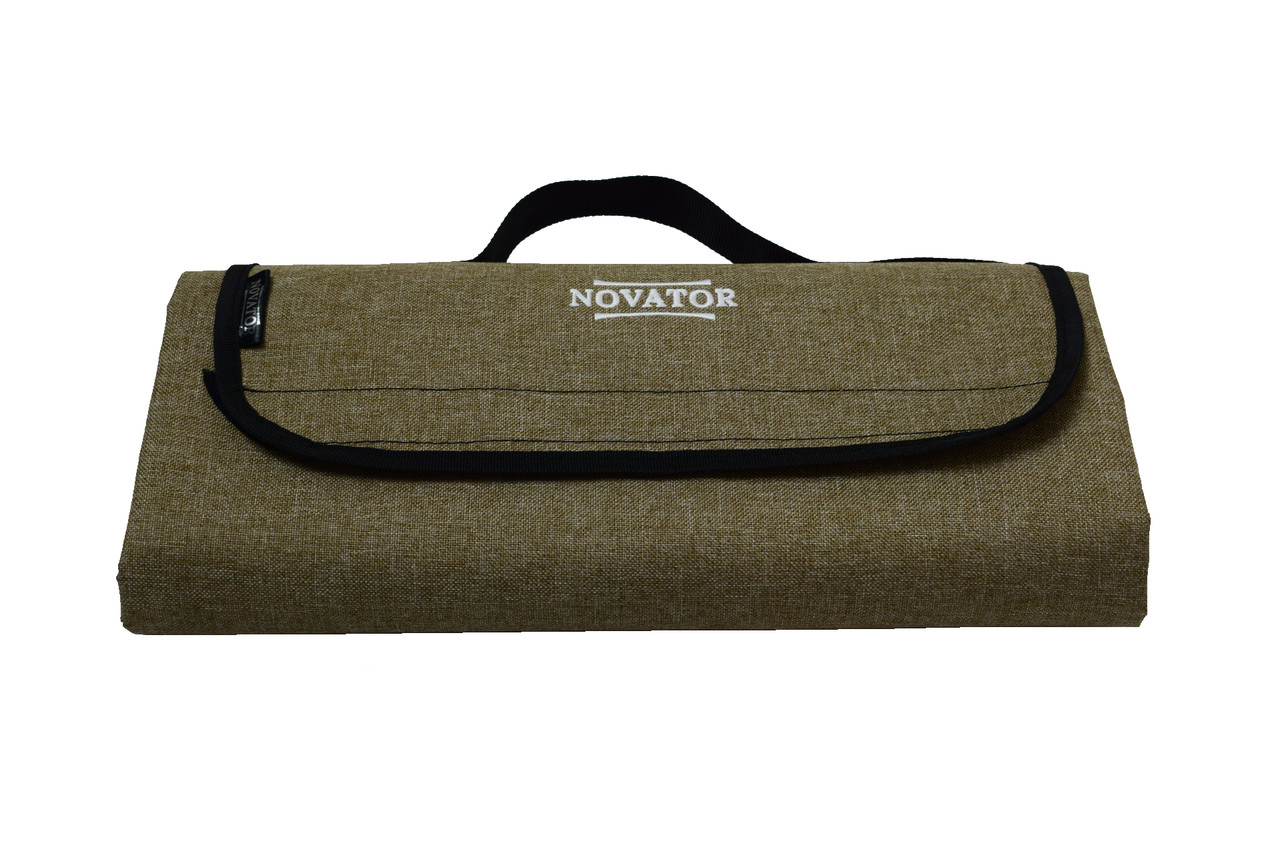 Коврик каремат для кемпинга Novator Picnic Brown 200х150 см