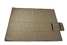 Коврик каремат для кемпинга Novator Picnic Brown 200х150 см, фото 2