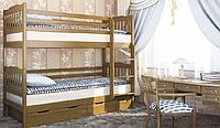 Кровать двухъярусная Ева с ящиками Venger