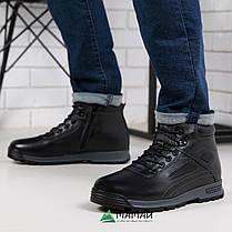 Чоловічі зимові черевики з натуральної шкіри -20 °C 40р, фото 2