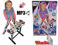 Оригинал. Музыкальный инструмент Синтезатор Клавишная Парта Simba 6832609
