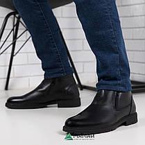 Чоловічі зимові черевики з натуральної шкіри 40,45р, фото 2