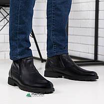 Чоловічі зимові черевики з натуральної шкіри 40,45р, фото 3