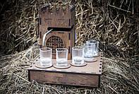 Алкогольный наливатор + Блютуз колонка, дозатор напоїв на 5 рюмок