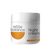 Крем нічний для нормальної та комбінованої шкіри