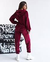 Спортивный костюм плюш в расцветках 721121, фото 2