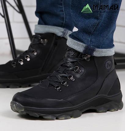 Мужские зимние ботинки из натуральной кожи -20°C 40р, фото 2