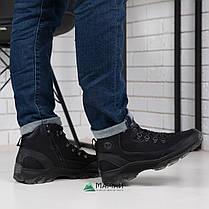 Мужские зимние ботинки из натуральной кожи -20°C 40р, фото 3