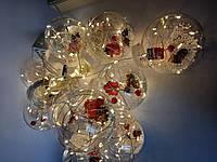 Гирлянда светодиодная декоративная крупные шары №1
