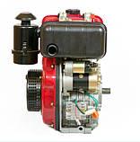 Двигатель дизельный Weima WM178FЕ (6.0 л.с. эл.стартер), фото 3