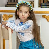 Вышиванка для девочки (ручная вышивка, 4-5 лет), фото 1