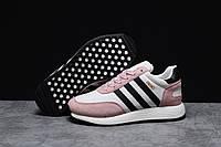 Зимние женские кроссовки 31651, Adidas Iniki, розовые, [ 36 38 39 41 ] р. 36-21,5см.