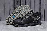Зимние мужские кроссовки 31572, CAT Caterpilar Expensive (мех), черные, [ 40 ] р. 40-26,0см.