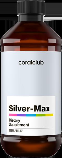 Колоидное серебро 236 мл США Корал Клаб Сильвер-Макс /Коллоидное серебро /Silver-Max Coral Club