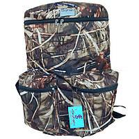 Рюкзак для рыбалки и охоты SkyFish 60 л большой водонепроницаемый Камыш
