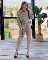 Базовый костюм штаны и рубашка Кемелл S