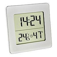 Термометр-гигрометр цифровой комнатный TFA Silver