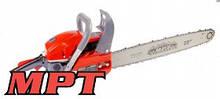 """MPT Пила ланцюгова бензинова, 2200 Вт, 58 см3, 550 мм/22"""", плавний пуск, Арт.: MGS5802-22"""