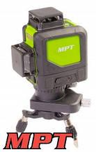 MPT  Уровень лазерный H360+2*V360, 3 лазерные головки GREEN, 0.3мм/м, 45м, Li-ion, тренога, сумка, Арт.: