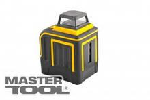 MasterTool  Уровень лазерный H360+V, 2 лазерные головки RED, 0.2мм/м, 10м, Li-ion, сумка, Арт.: 30-1905