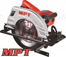 MPT  Пила циркулярная PROFI 2200 Вт, 235*25,4 мм, 4500 об/мин, пропил 85 мм, 45-90*, аксесс. 2 шт, Арт.: