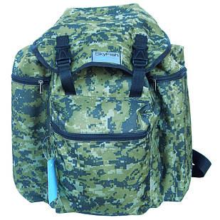 Рюкзак для рыбалки и охоты SkyFish 40 л средний водонепроницаемый Зеленый